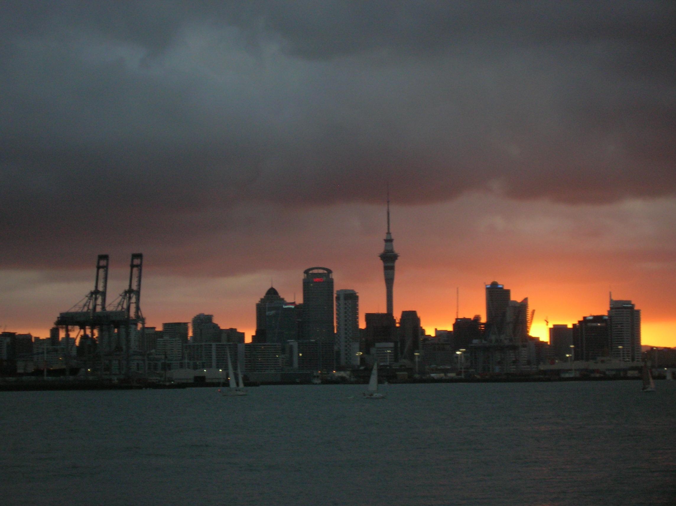 Auckland mir dämmerts langsam…