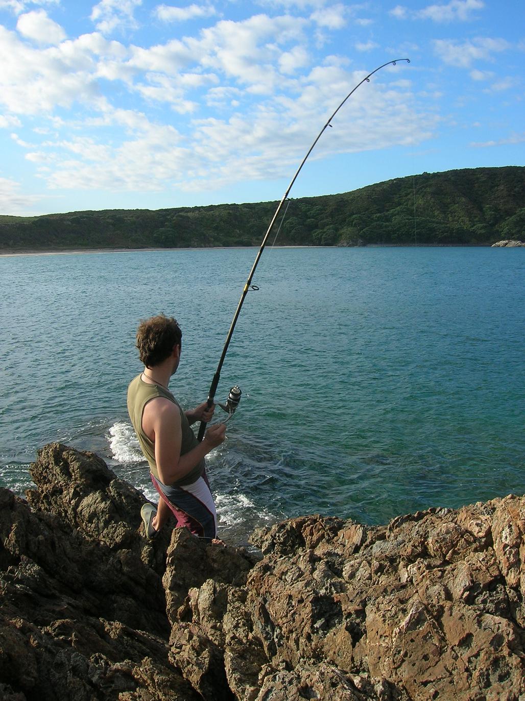 Nils, der Fischer