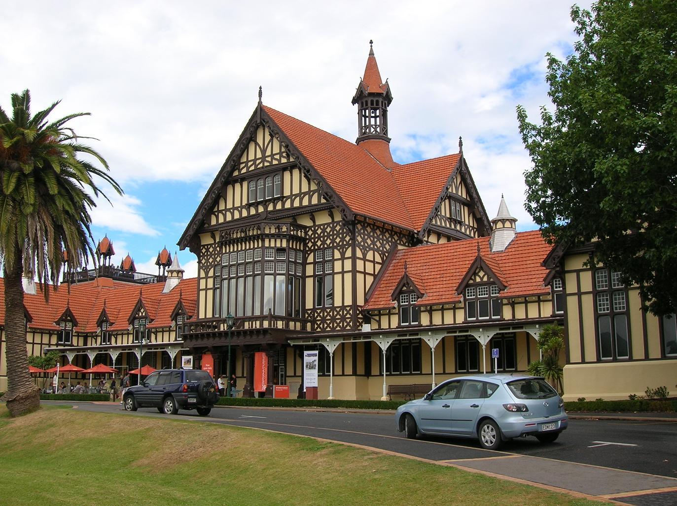 Das Museum von Rotorua