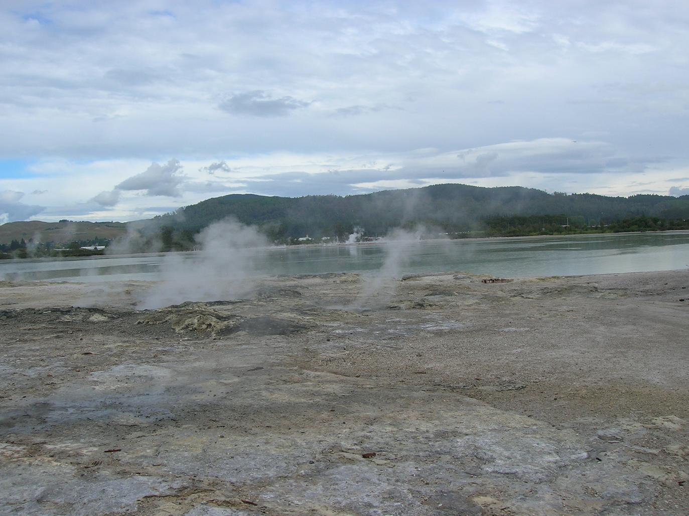 Die Gegend um Rotorua 1
