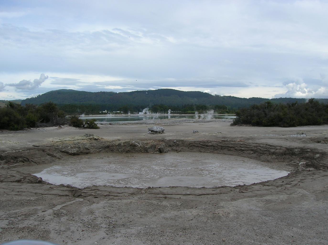 Die Gegend um Rotorua 2