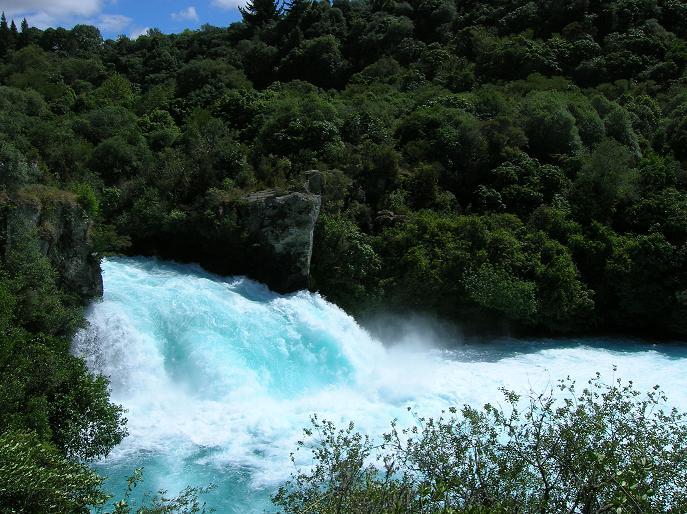 Die Huka Falls 2