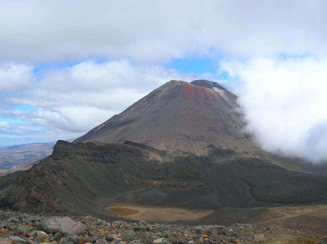 Mt Ngauruhoe, dieses Mal von hinten