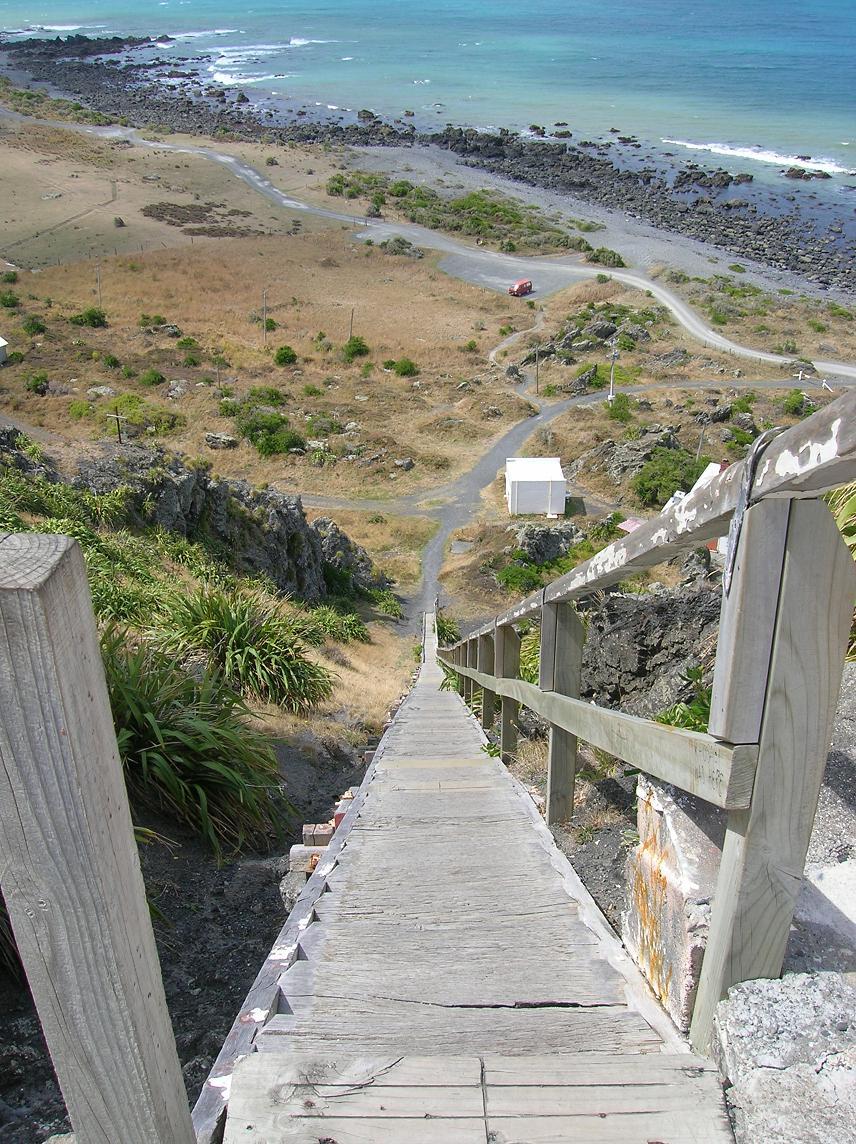 Lieber eine Treppe mit Ende, als ein Ende ohne Treppe