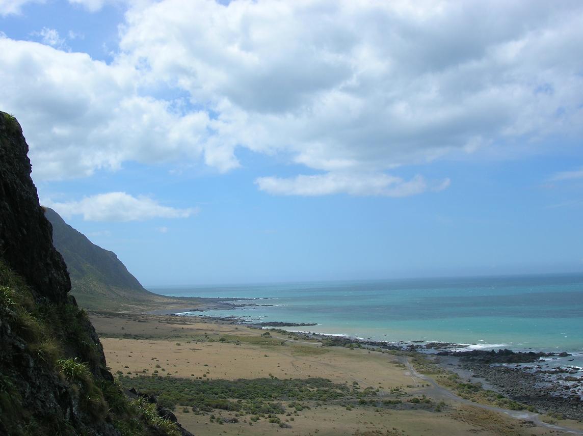 Ausblick auf das Kap