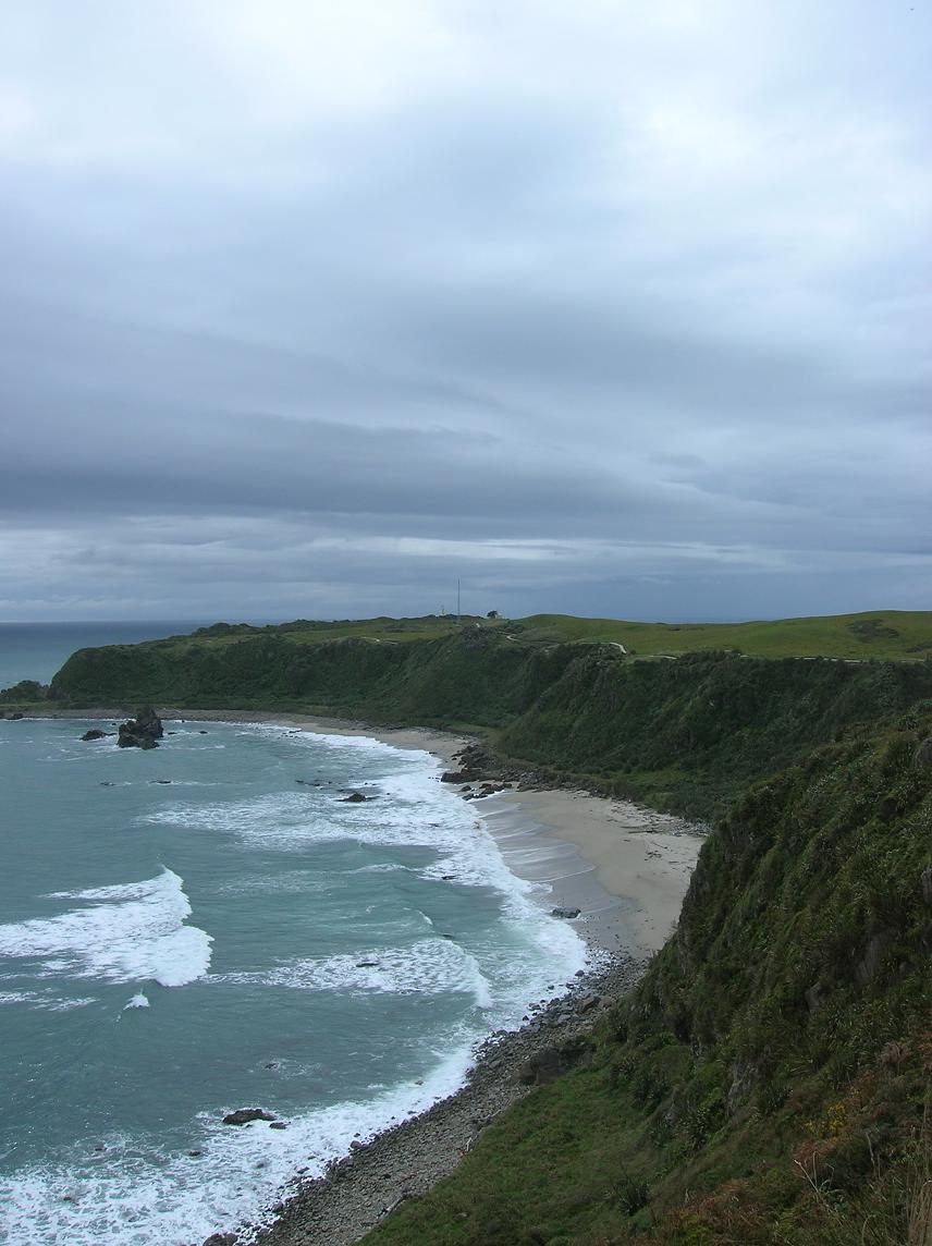 … Cape Foulwind near Westport