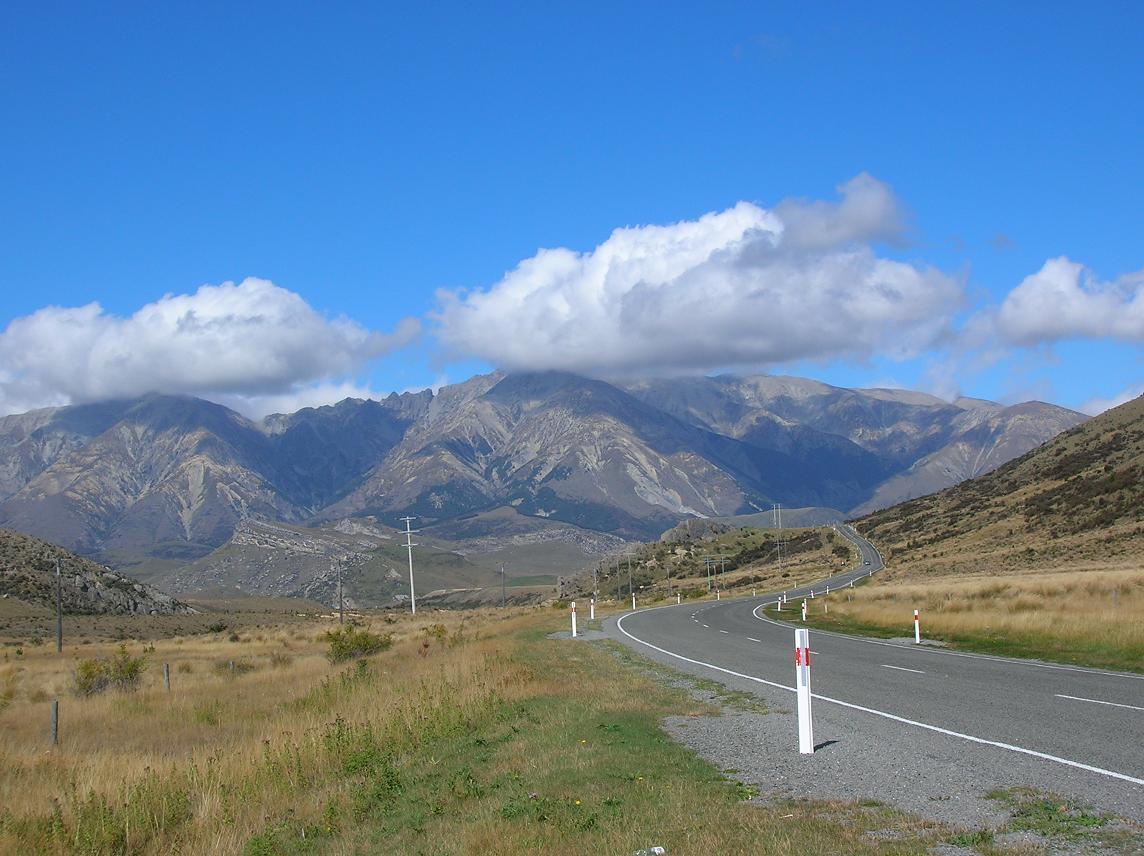 Entlang der Alpen