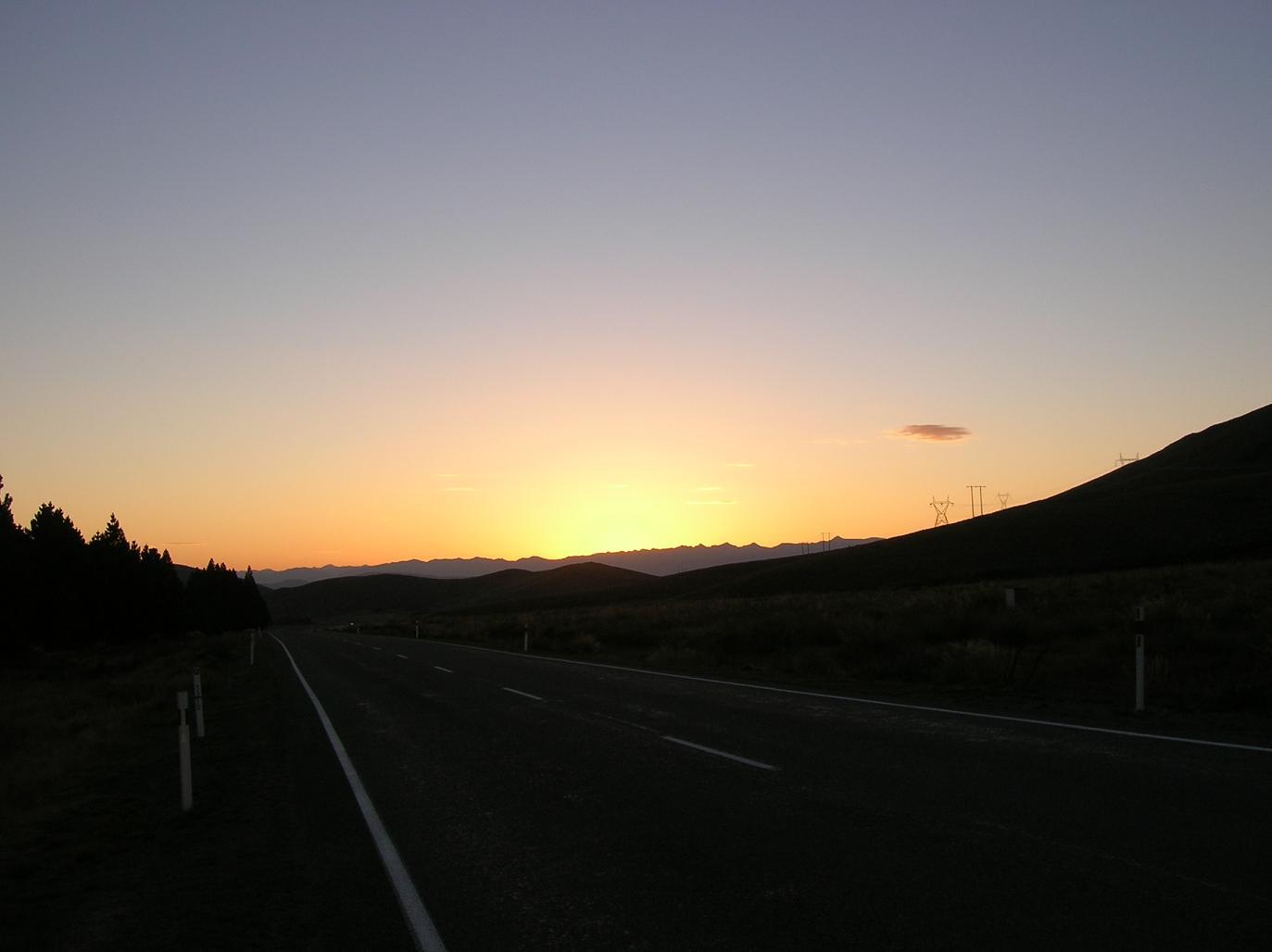 Der Weg zum Burkes Pass
