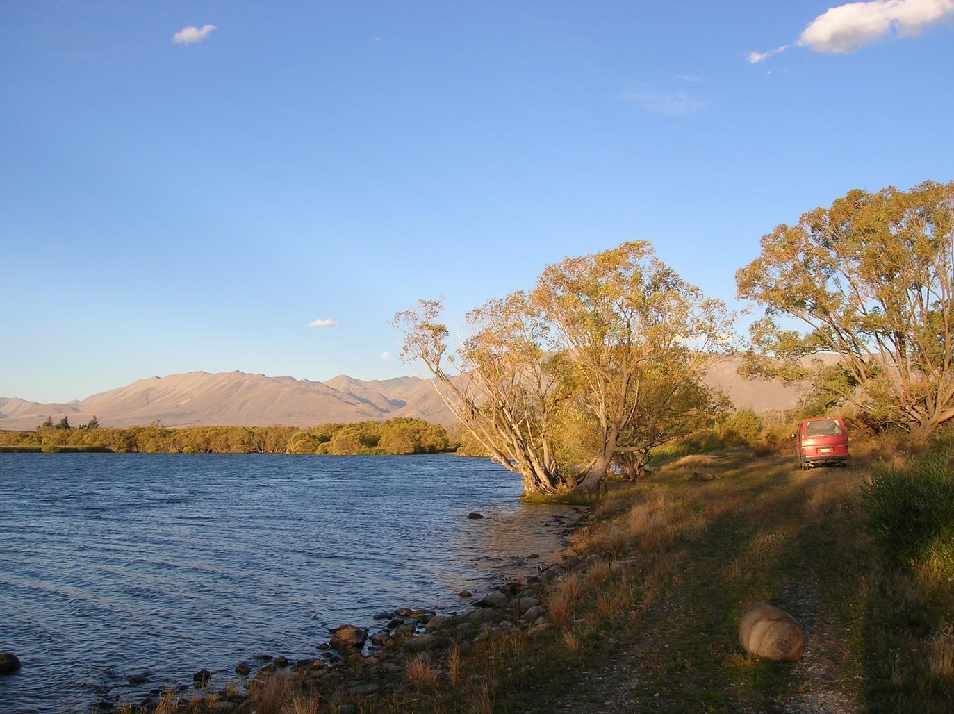 Lake Mc Gregor -Ankunft-