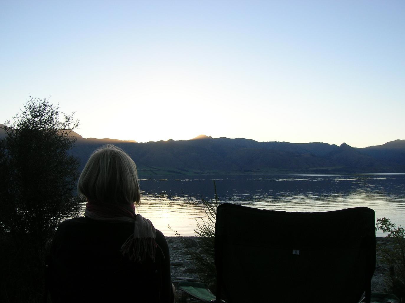 Die Babs und der See
