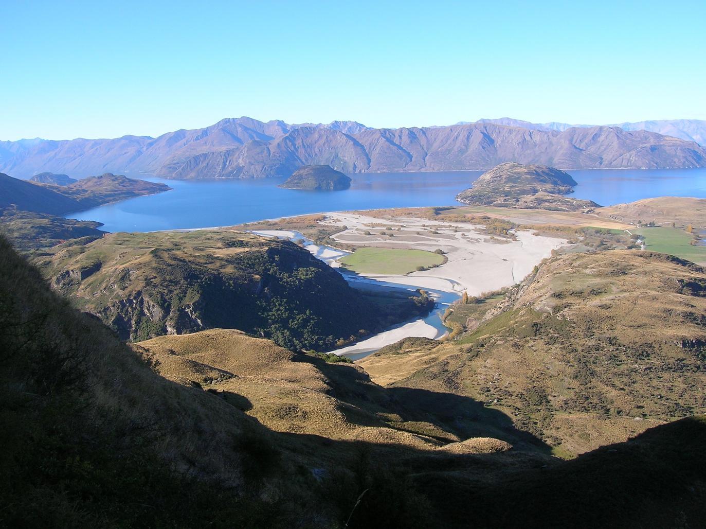 Lake Wanaka … auch von oben