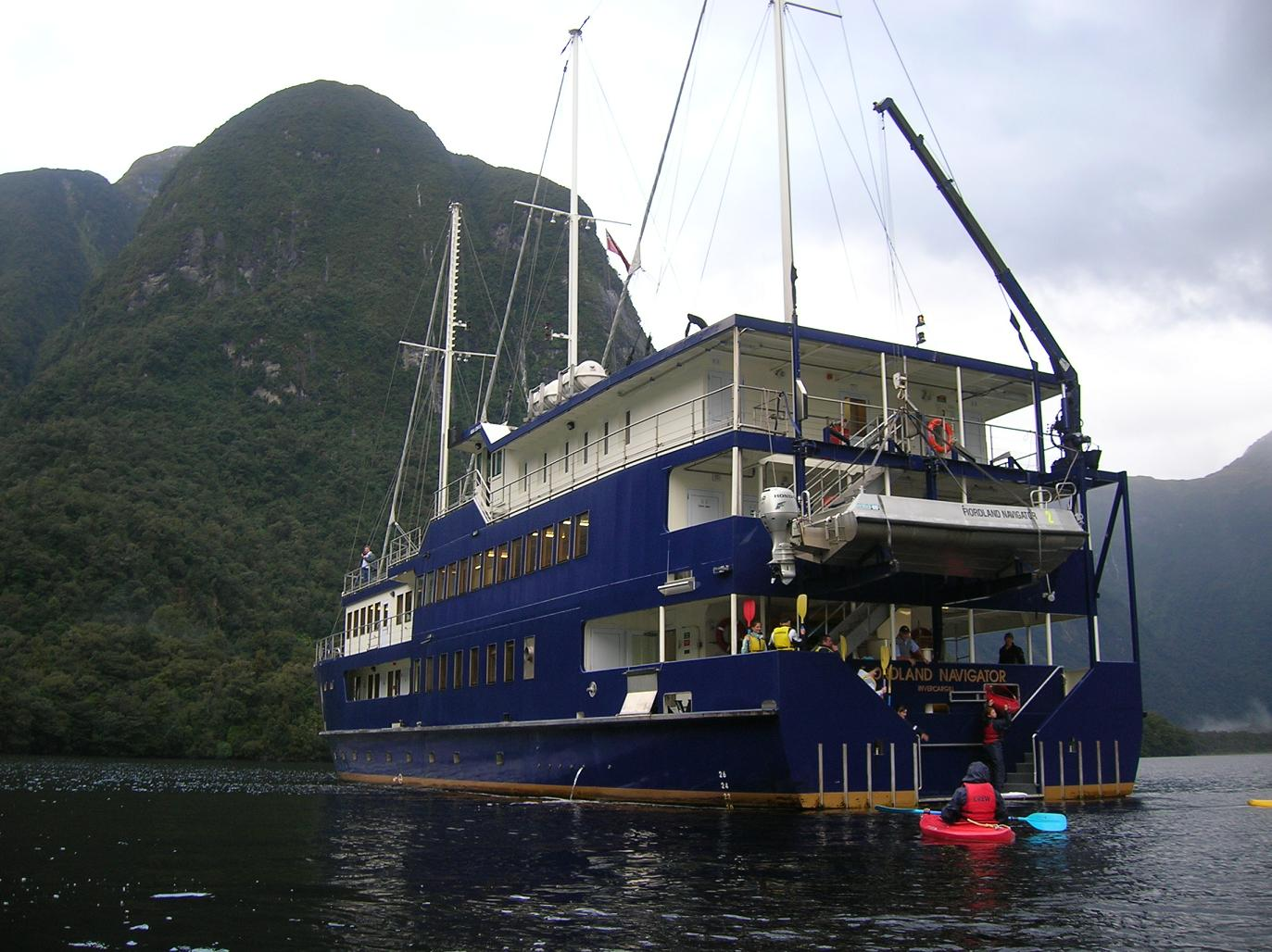 Die Fjordland Navigator