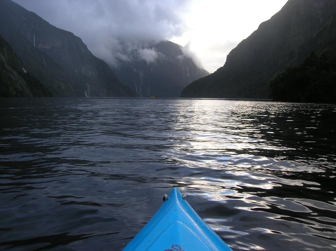 So sieht man den Fjord aus der Babsperspektive