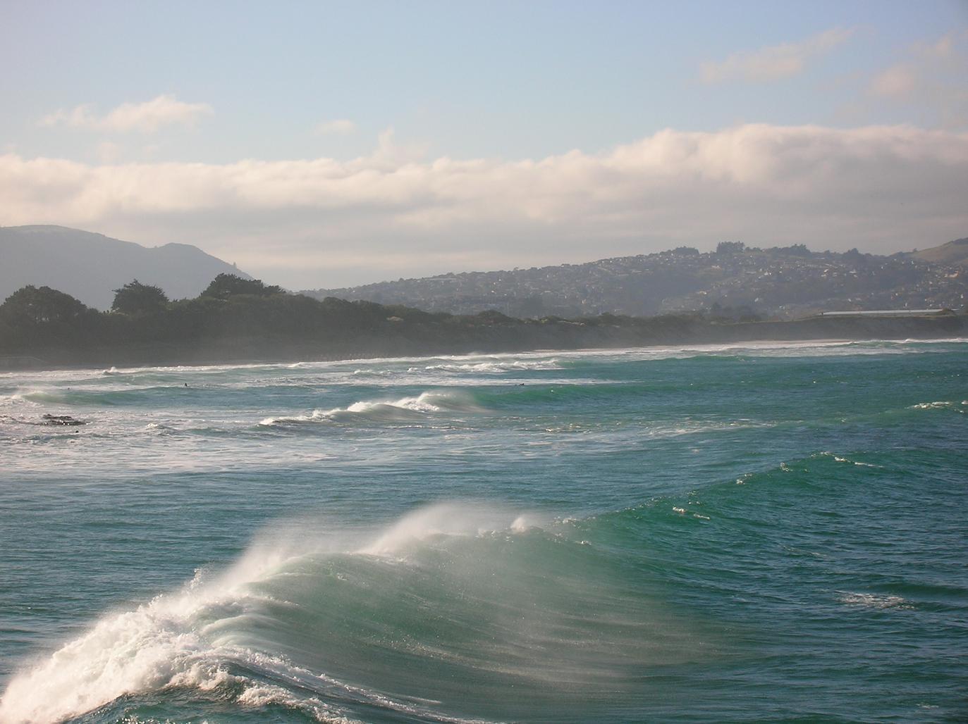 Ist das die perfekte Welle? Immerhin war Juli!