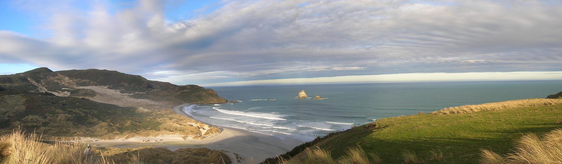 Sandfly Bay Panorama