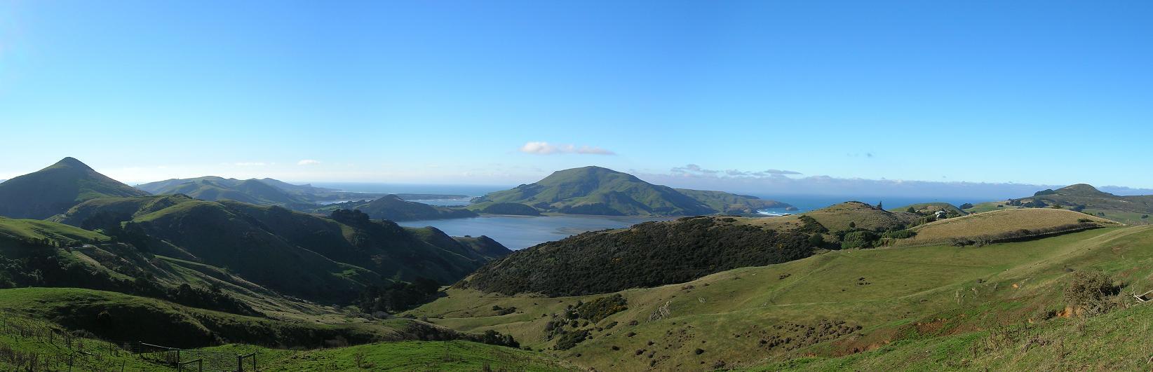 Umland von Dunedin