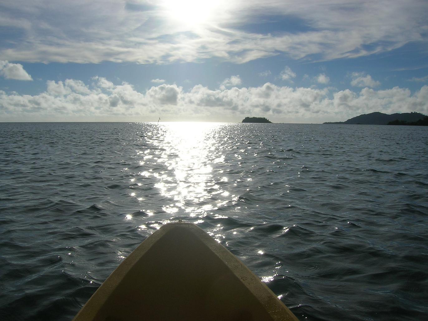 Mit dem Kanu um die Welt