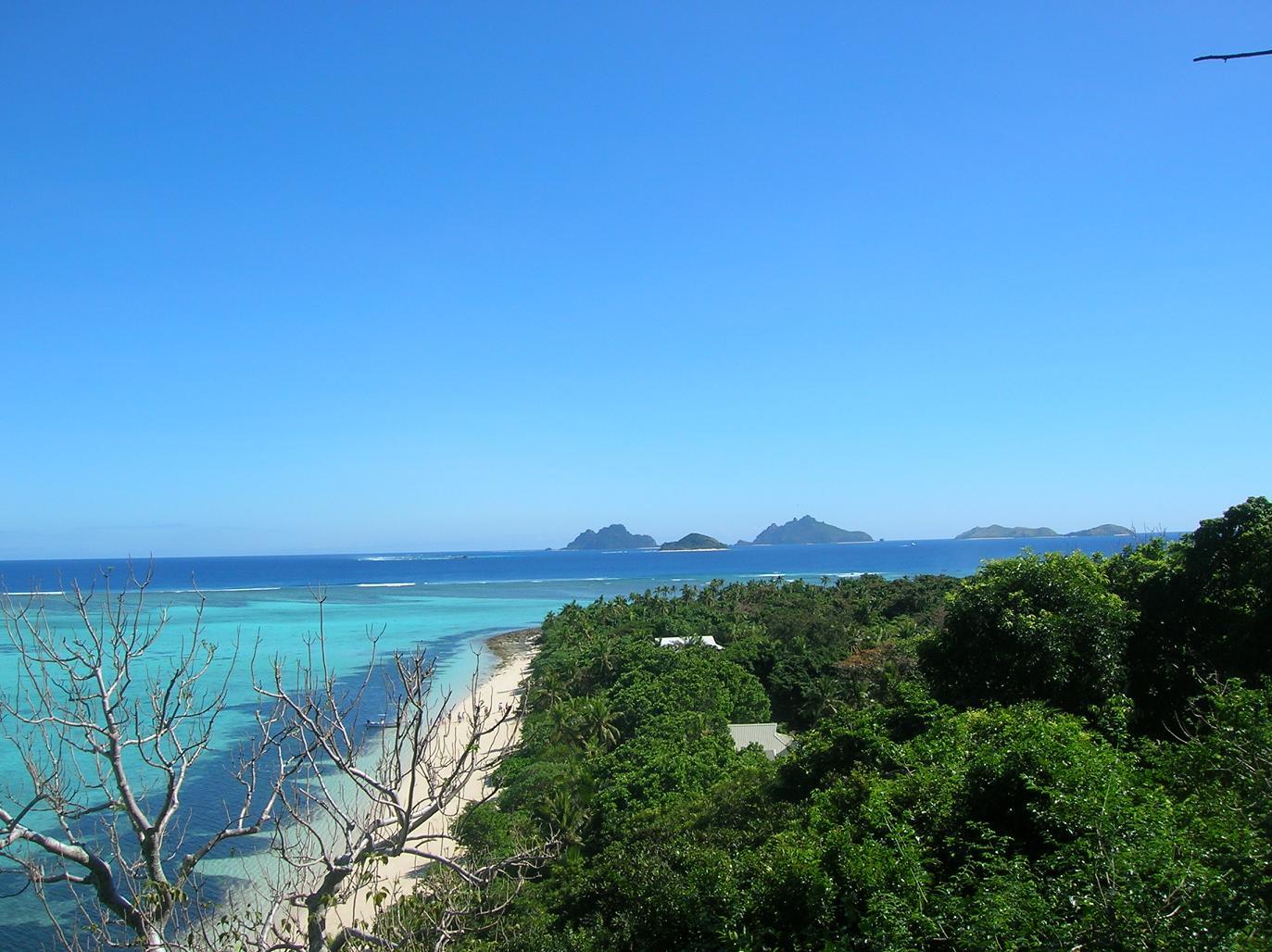Unterwegs auf Mana Island
