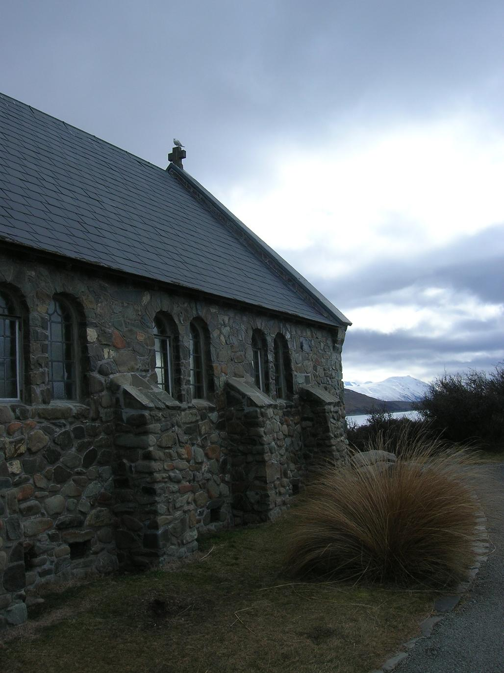 Selber Kirche … anderer Blikwinkel