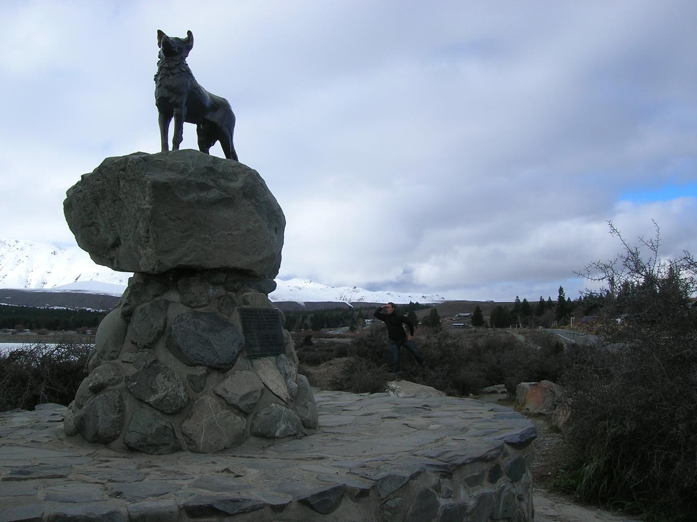 Berühmte Statuen wichtiger neuseeländischer Persönlichkeiten