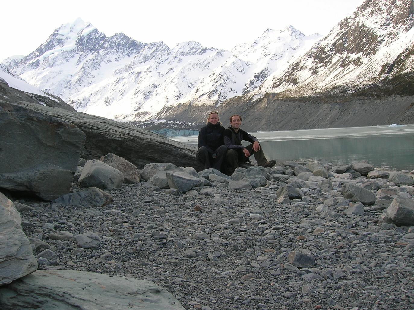 Zwei Bergleute