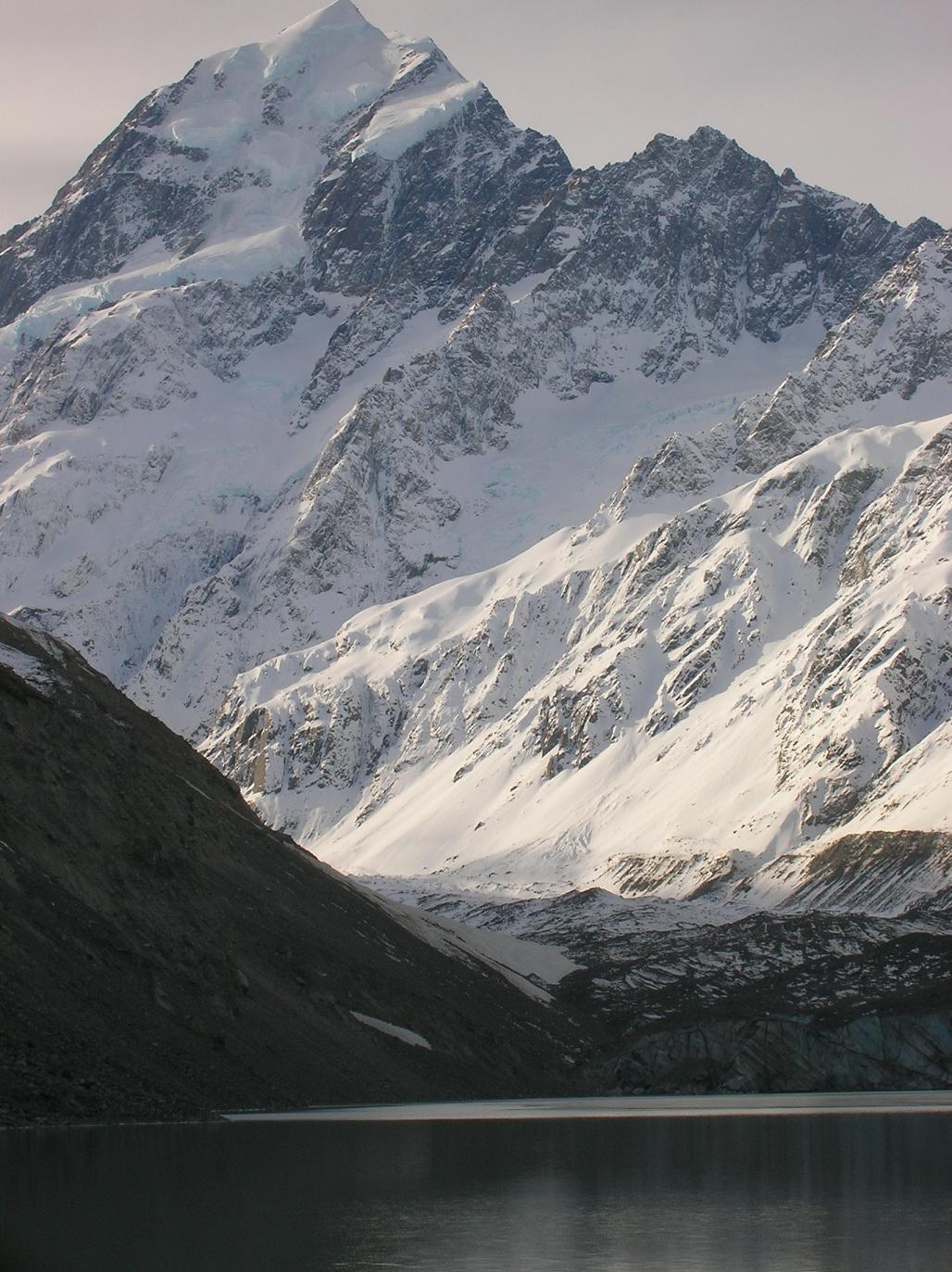 Ein letzter Blick, Mount Cook