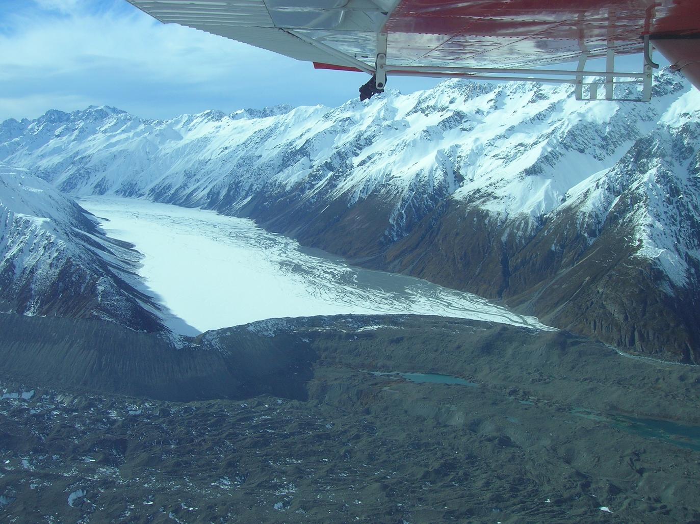 Ein Gletscher … dessen Name mir nicht mehr einfällt