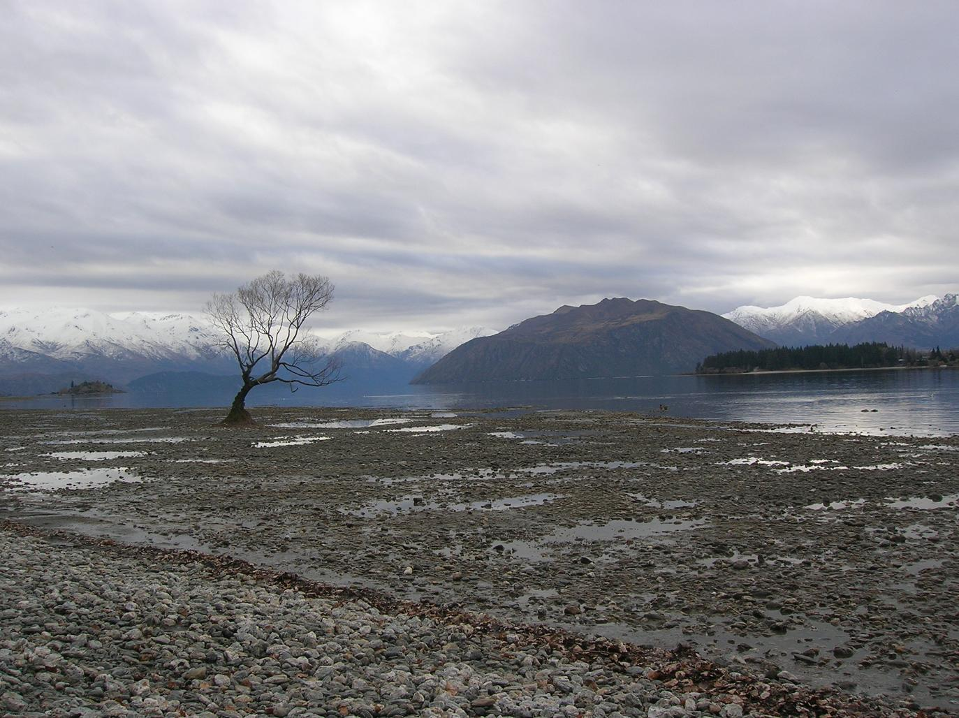 Lake Wanaka im Winter