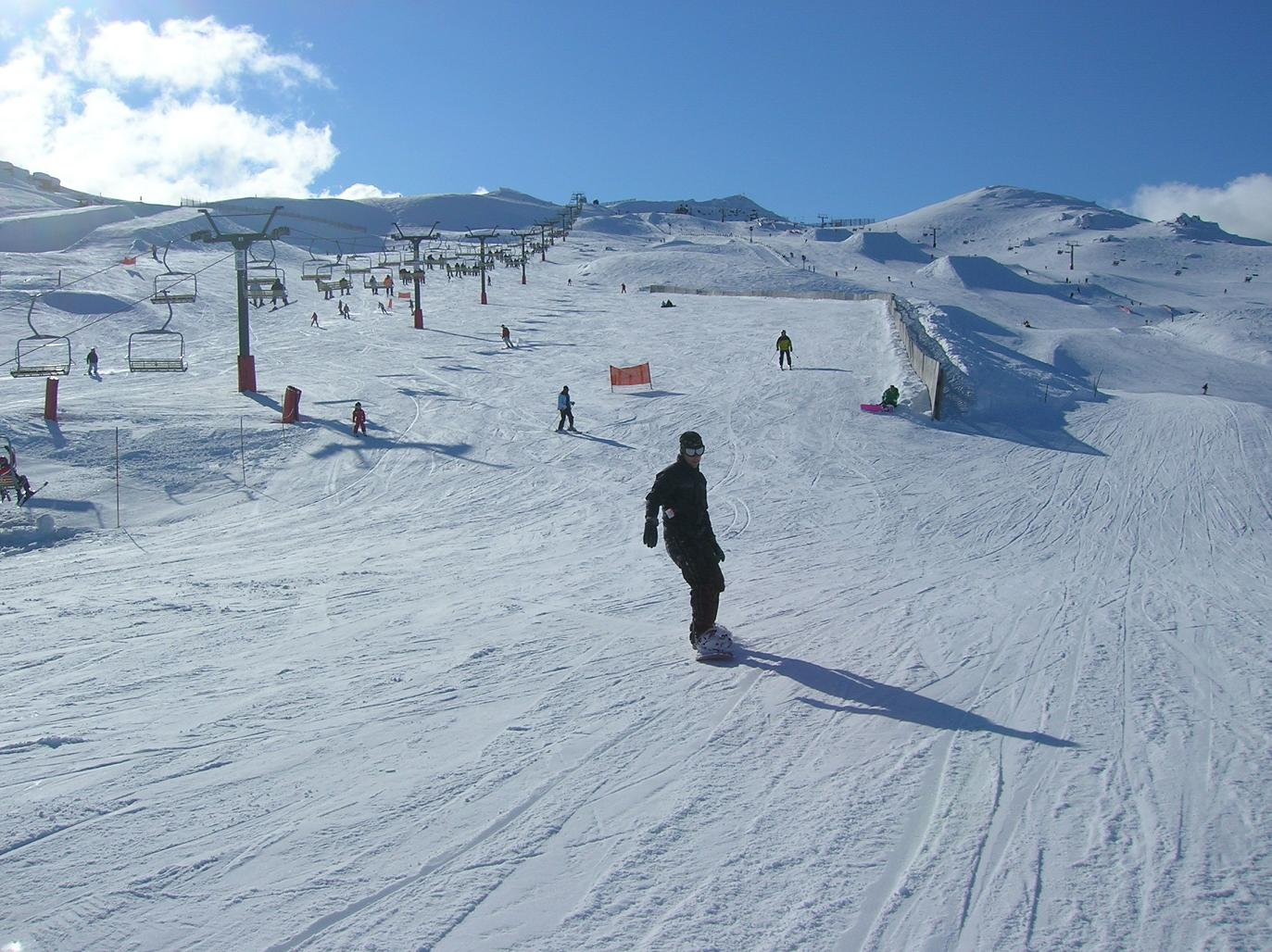 Ein Snowboarder … Quatsch, der Nils