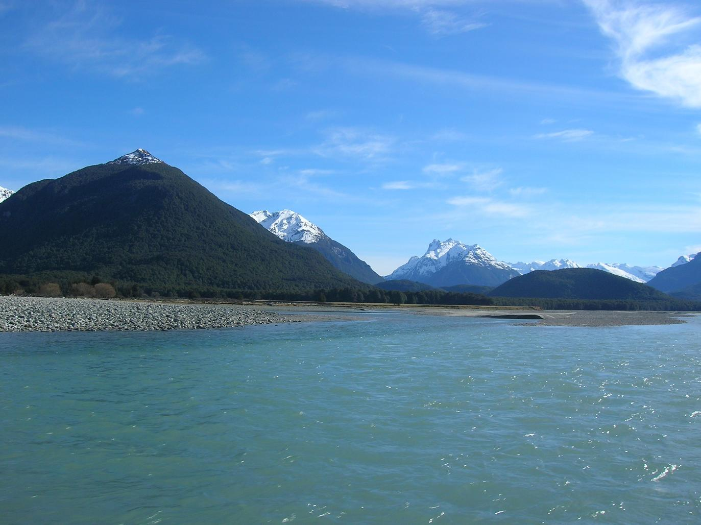 Dem Dart River entlang im Speedboat 2
