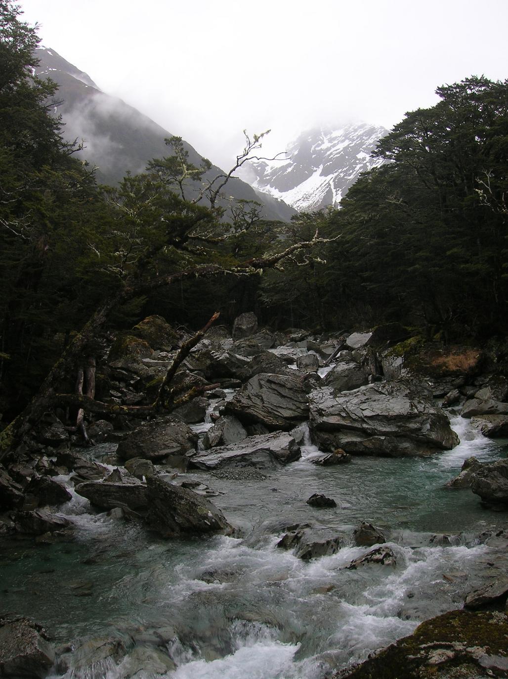 Ein Fluss kommt selten allein