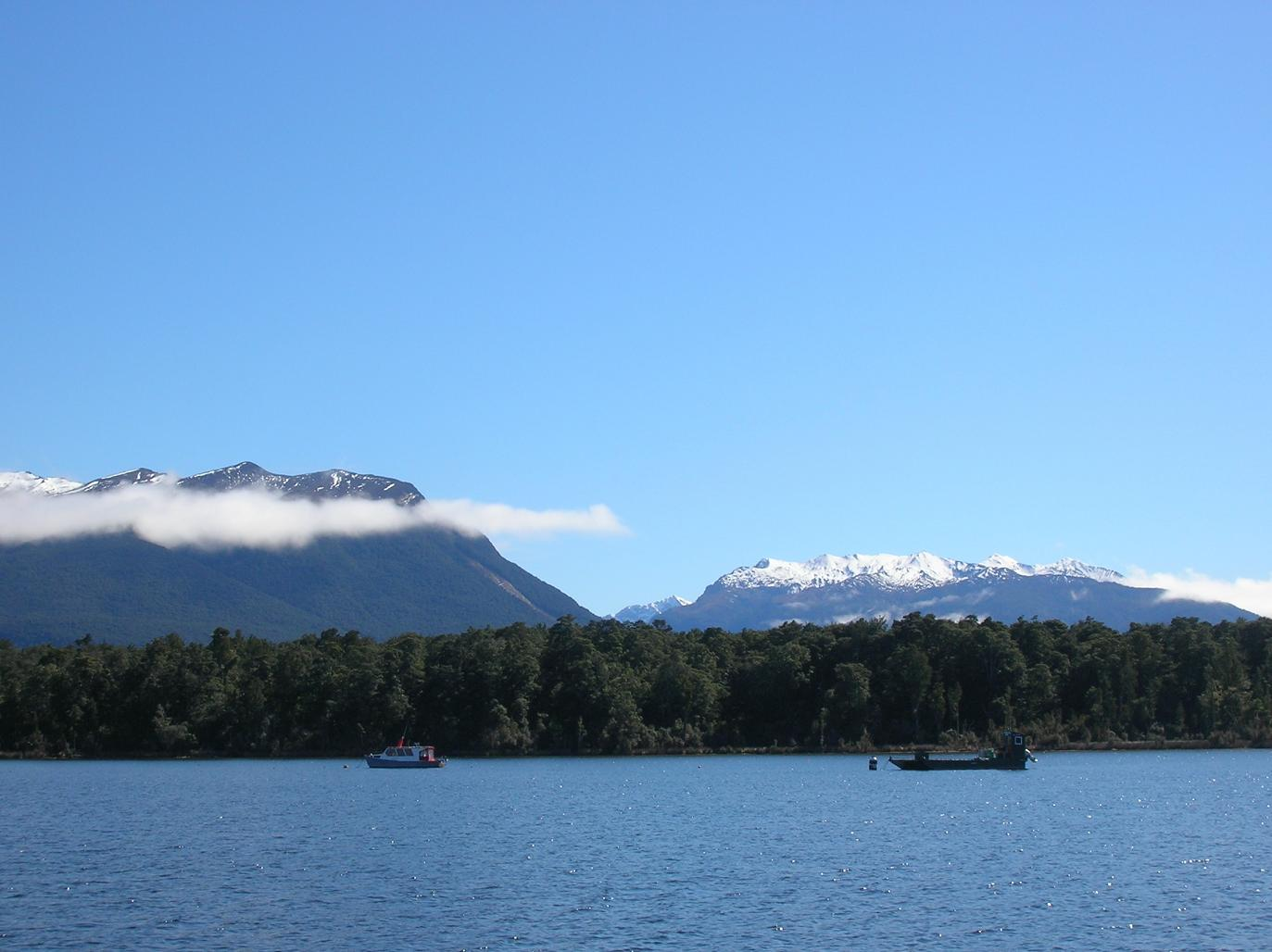 Lake Te Anau Downs
