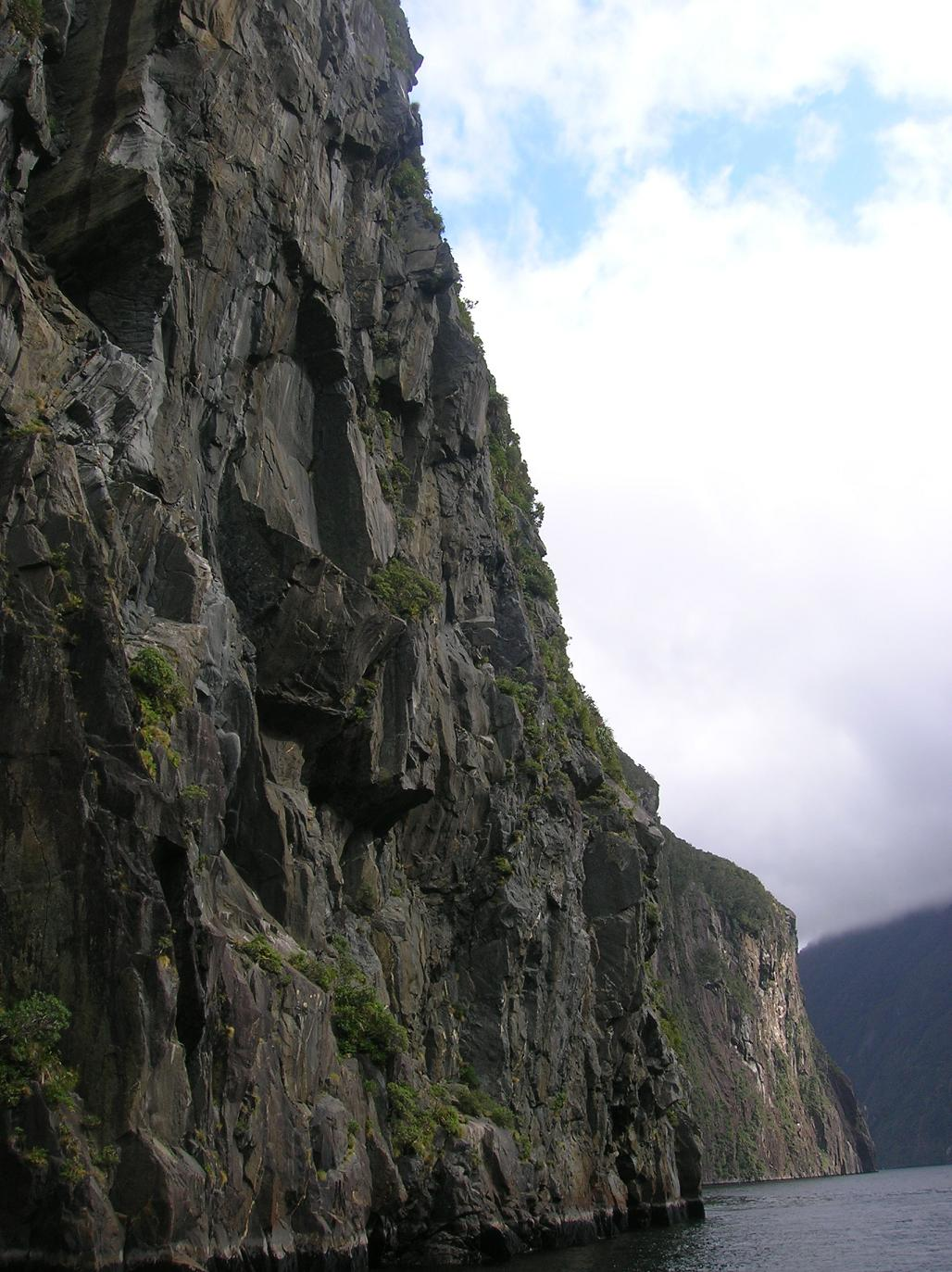 Steile Wände