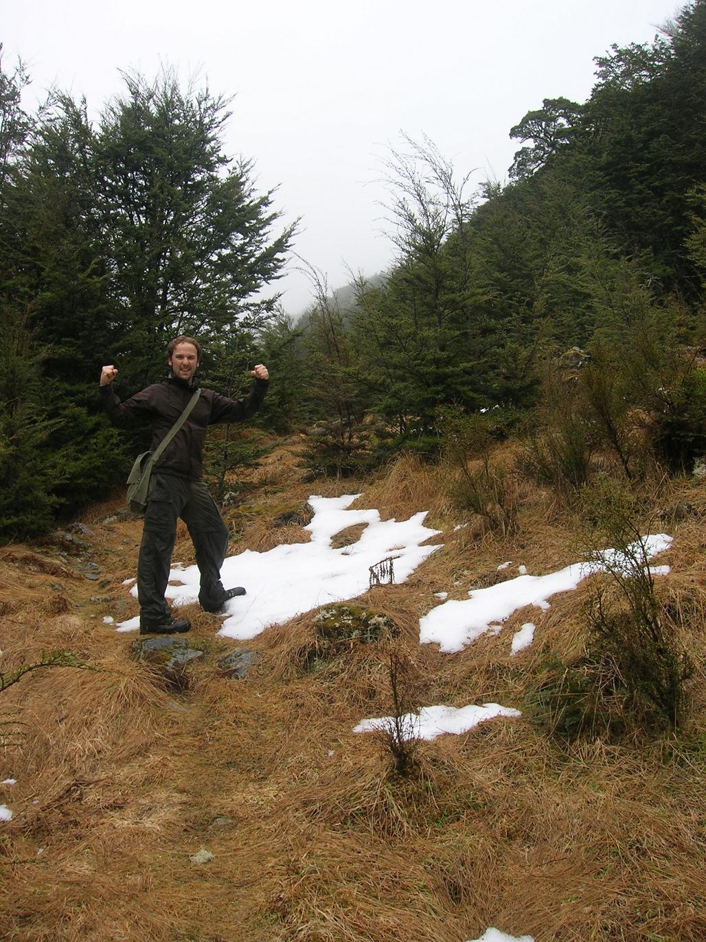 Unbekannter Berg 2008 … wir waren oben