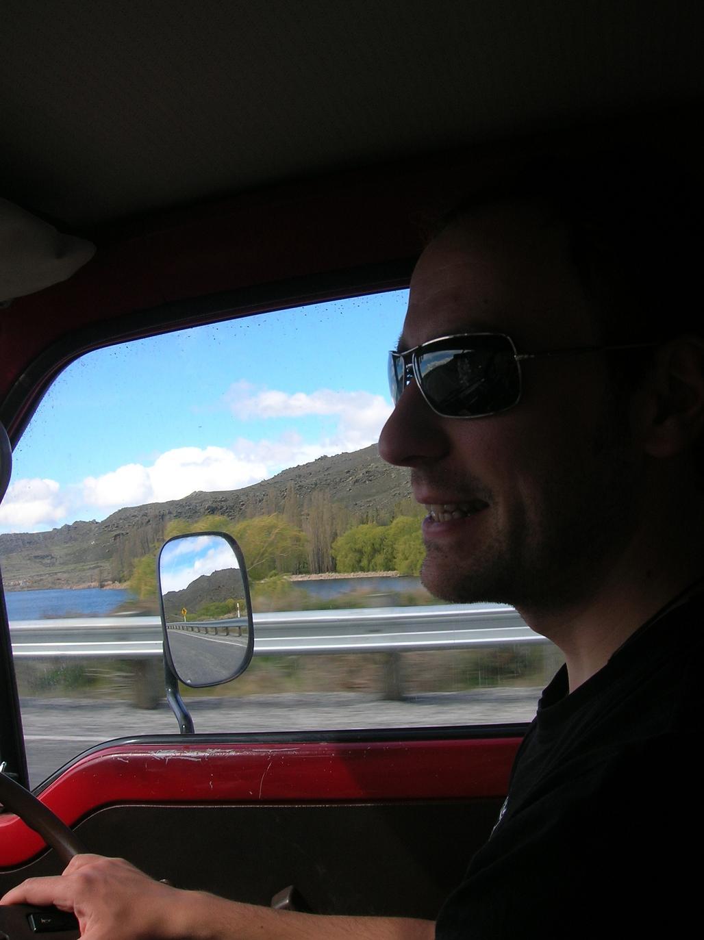 Der Fahrer …