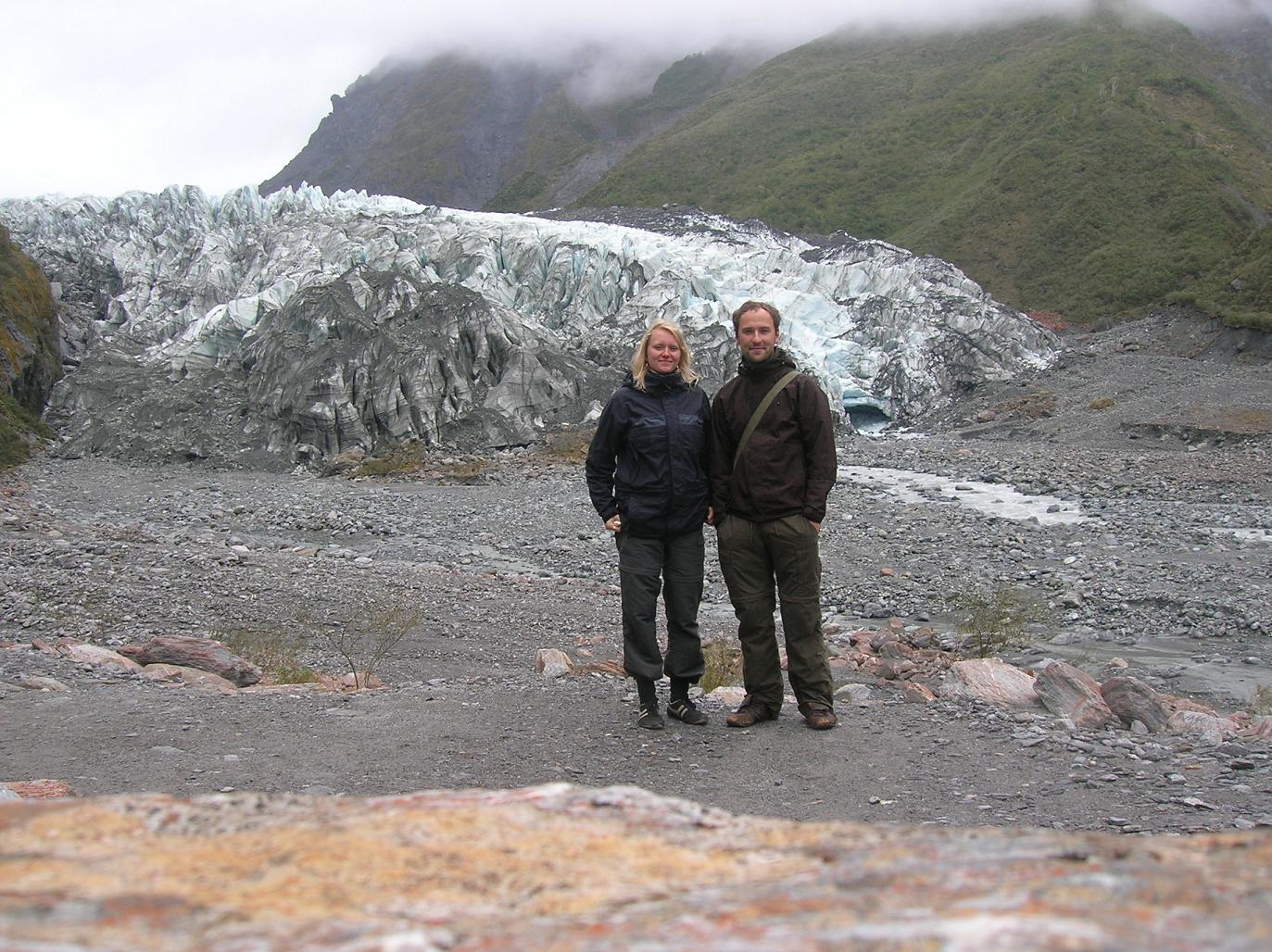 Gletscher-Tourismus
