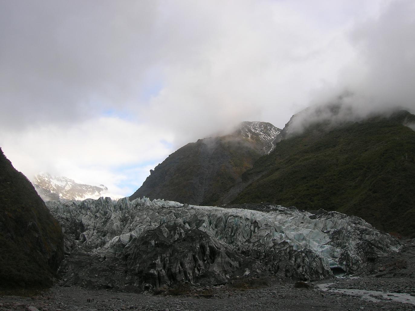 Der Fox-Gletscher
