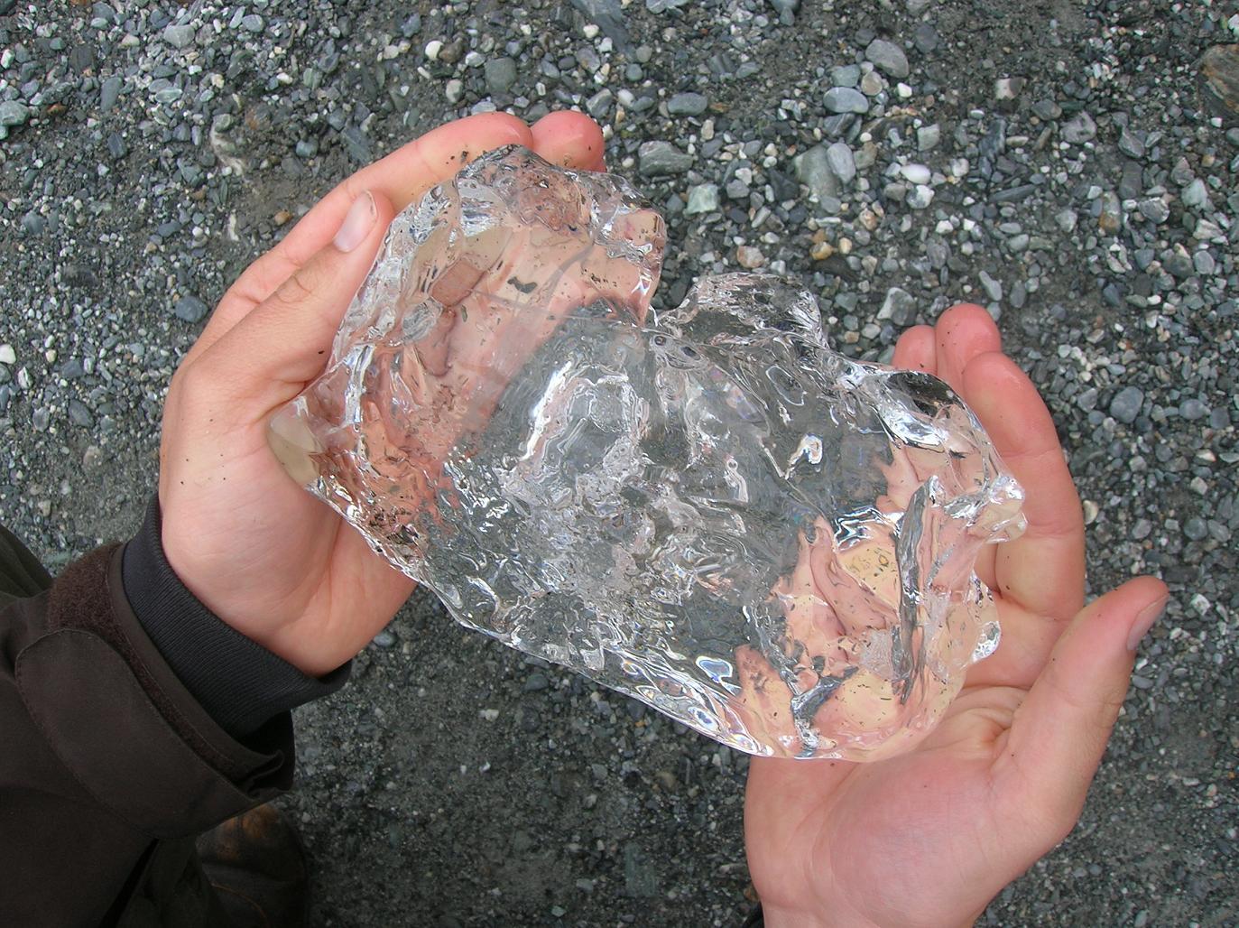 Ein Schatz aus Eis