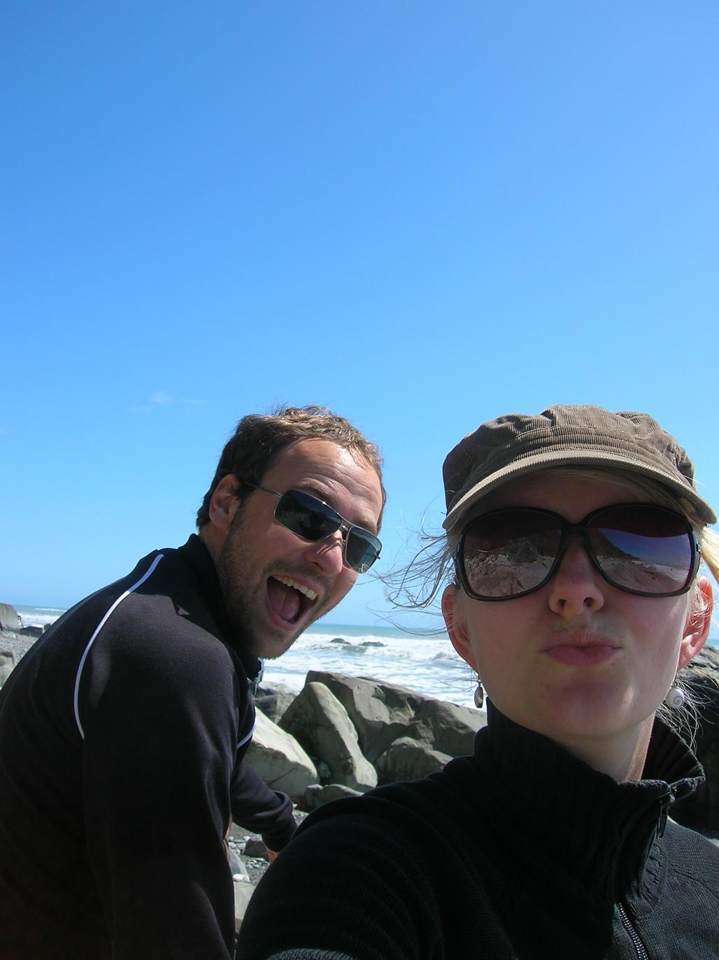 Blöd grinsen, Posieren, ich sag ja … Touristen