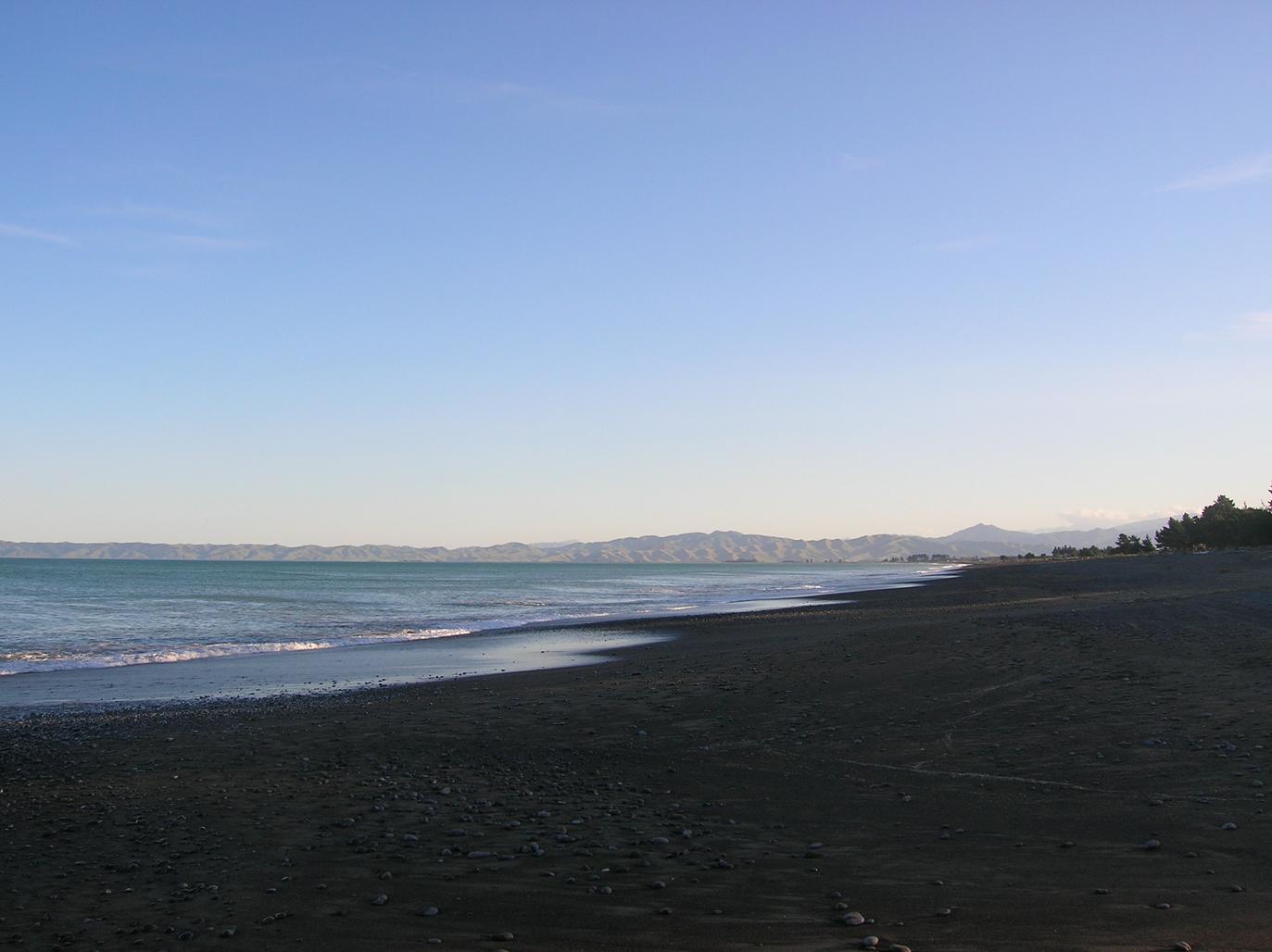 Ein Strand bei Picton 2